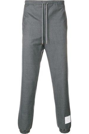 Thom Browne Pantalones de chándal con dobladillo elástico