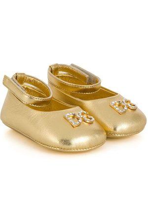 Dolce & Gabbana Bailarinas con apliques de cristal