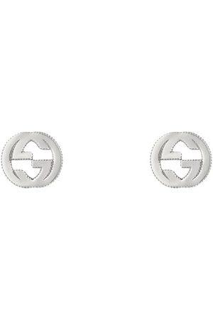 Gucci Pendientes con logo entrelazado