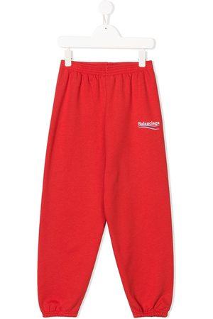 Balenciaga Pantalones de chándal con logo estampado