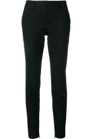 Saint Laurent Mujer Pantalones slim y skinny - Pantalones pitillo de esmoquin
