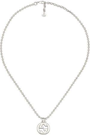 Gucci Collar de G entrelazada de plata