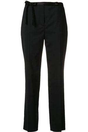 Prada Pantalones de vestir con detalles
