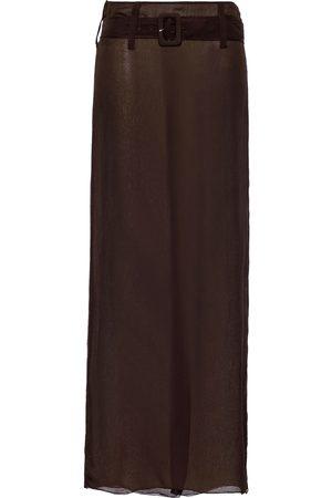 Prada Falda de gasa