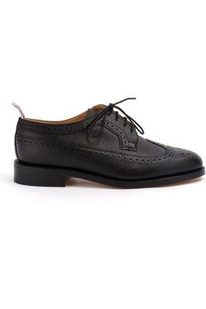 Thom Browne Zapatos brogues efecto granulado Wingtip Flat