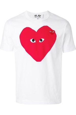 Comme des Garçons Camiseta con logo y corazón