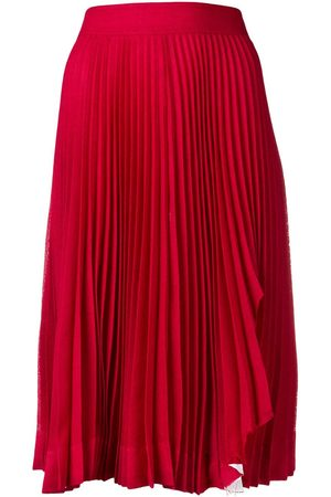 Calvin Klein Falda midi plisada