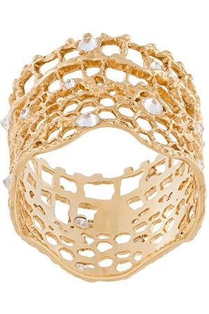 "Aurélie Bidermann Anillo con diamantes ""Vintage Lace"""