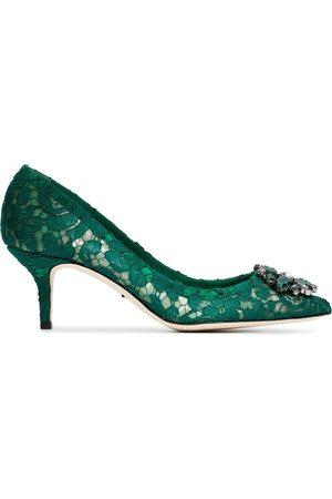 Dolce & Gabbana Zapatos de tacón Bellucci 60 con encaje y cristales