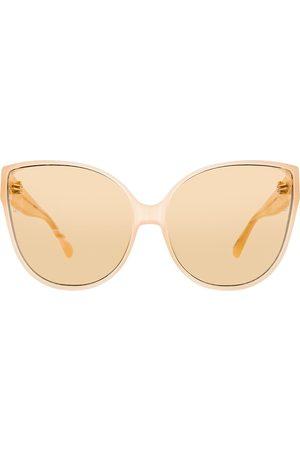 Linda Farrow Gafas de sol cat eye 656 C4