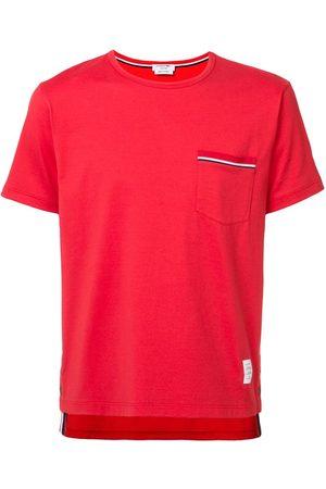 Thom Browne Camiseta con bolsillo en el pecho