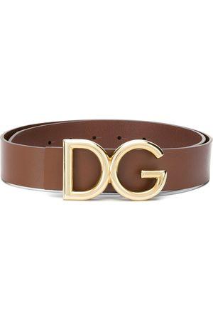 Dolce & Gabbana Hombre Cinturones - Cinturón con hebilla con logo