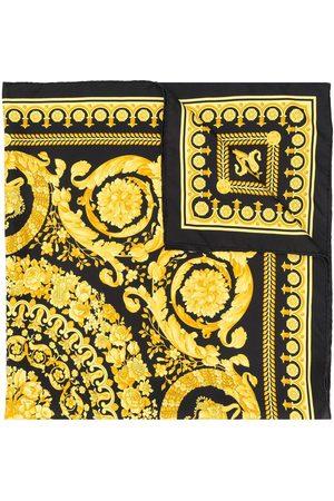 VERSACE Pañuelo con estampado barroco