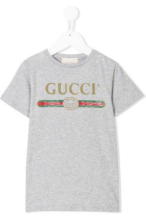 Gucci Camiseta con logo estampado