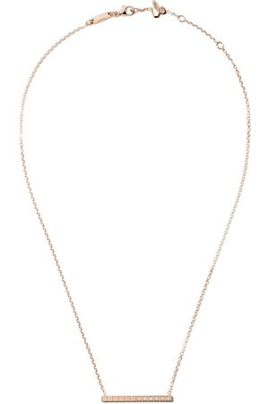 Chopard Collar Ice Cube Pure con diamantes en oro rosa de 18kt
