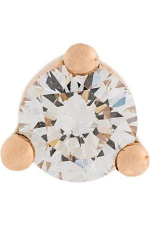 DELFINA DELETTREZ Pendiente Dots Solitaire con diamante y perla