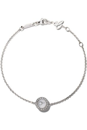 Chopard Pulsera Happy Diamonds Icons en oro blanco 18kt