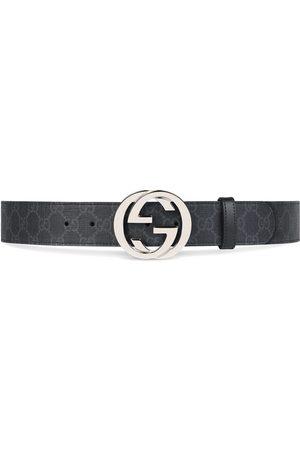 Gucci Cinturón GG Supreme con hebilla G