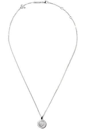 Chopard Collar con colgante Happy Diamonds Icons en oro blanco de 18kt