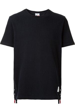 Thom Browne Camiseta con cinta de grosgrain
