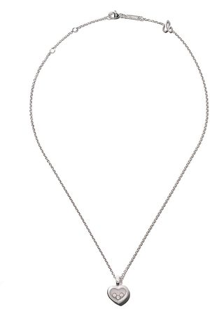 Chopard Collar Happy Diamonds Icons en oro blanco 18kt