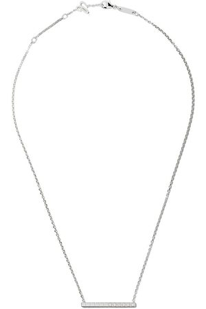 Chopard Collar Ice Cube Pure con diamantes en oro blanco 18kt