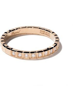 Chopard Anillo Ice Cube con diamantes en oro 18kt