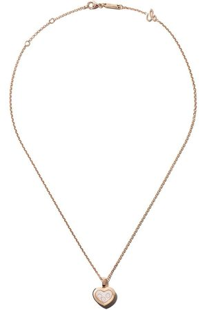 Chopard Collar Happy Diamonds Icons en oro rosa 18kt