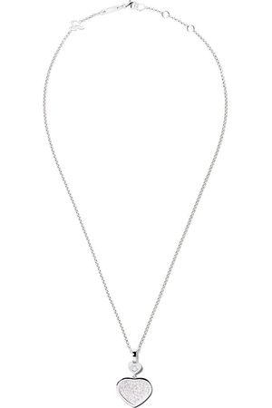 Chopard Collar Happy Hearts con diamantes en oro blanco 18kt