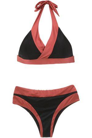 Brigitte Mujer Bikinis - Bikini con diseño de paneles