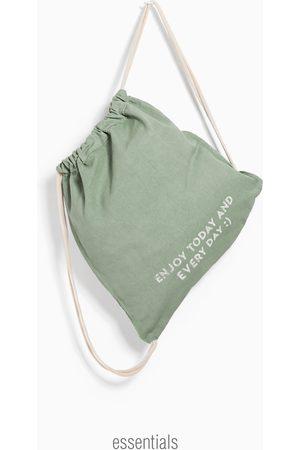 Zara Bebé Bolsos - Saco algodón estampado