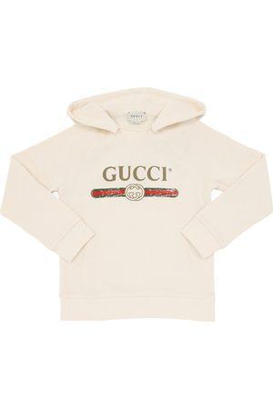 Gucci | Niño Sudadera De Algodón Estampada Con Capucha 8a