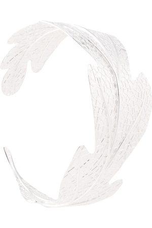 Karen Walker Brazalete con diseño de hojas y bellota