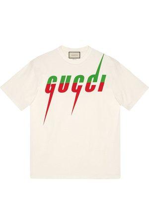 Gucci Camiseta Blade estampada