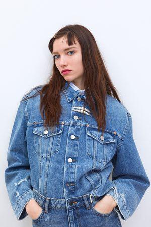 937bd15feff14 Chaquetas Vaqueras de mujer Zara online. ¡Compara y compra!