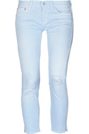 Dondup Mujer Cintura alta - Pantalones capri vaqueros