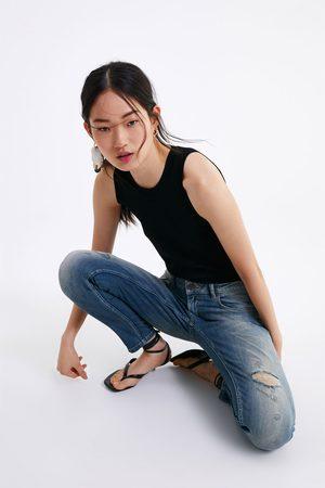 Zara Jeans z1975 skinny bajo cremallera