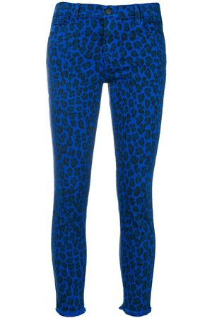 J Brand Vaqueros con estampado de leopardo