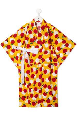Familiar Conjunto de kimono con estampado de cerezas