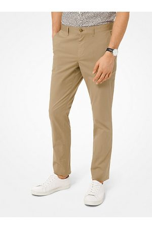 Michael Kors Hombre Slim - Slim-Fit Washed Poplin Chinos