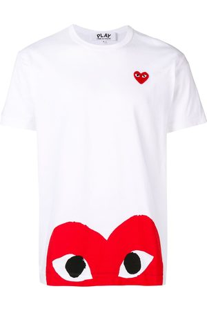 Comme Des Garçons Play Camiseta con estampado de corazón