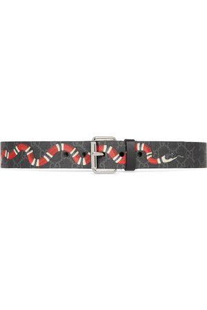 Gucci Hombre Cinturones - Cinturón GG con Estampado Kingsnake