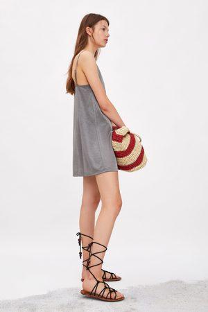 9f2bcbaa0d80b Vestidos de mujer Zara vestido lencero ¡Compara 22 productos y ...
