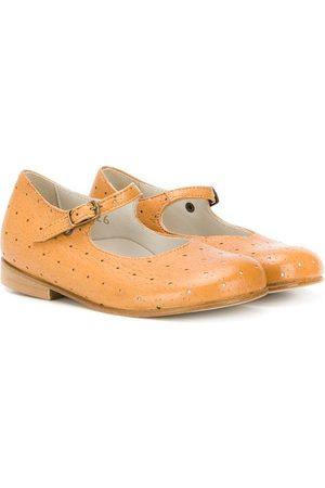PèPè Niña Bailarinas - Zapatos estilo Mary Jane con perforaciones