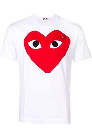Comme des Garçons Camiseta con corazón estampado