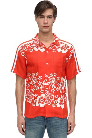 JUST DON | Hombre Camisa De Rayón Con Estampado S
