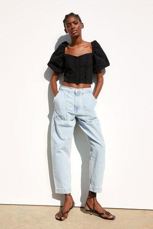nuevo concepto precio al por mayor como comprar Blusa bordado perforado
