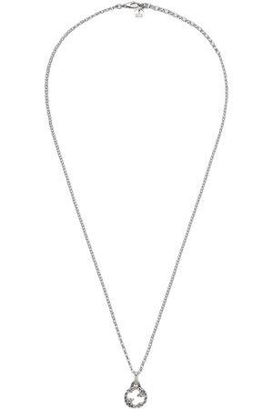 Gucci Collar con colgante de G entrelazada