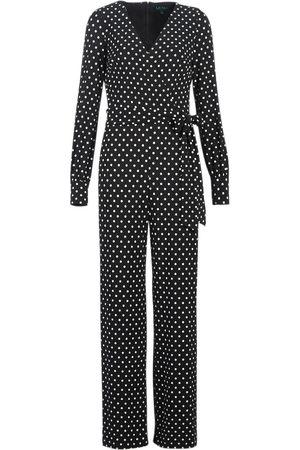 Ralph Lauren Mono POLKA DOT WIDE LEG JUMPSUIT para mujer