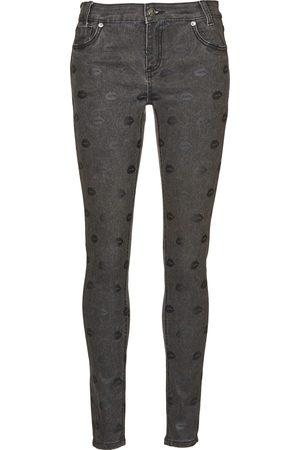 American Retro Mujer Pantalones slim y skinny - Pantalón pitillo HELENA para mujer